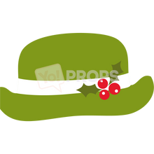 Load image into Gallery viewer, Green Christmas Hat