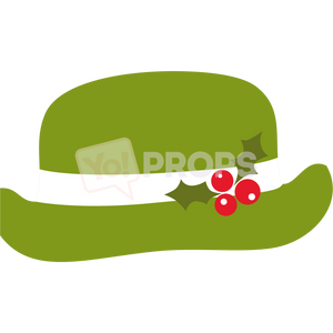 Green Christmas Hat