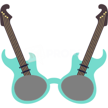 Load image into Gallery viewer, Guitar Glasses