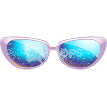Load image into Gallery viewer, Purple Sparkle Glasses