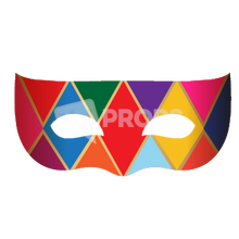 Load image into Gallery viewer, Masquerade Mask 8