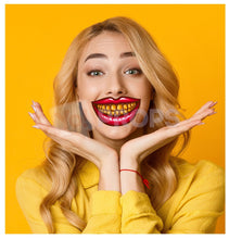 Load image into Gallery viewer, Mouth with Gold Teeth