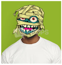 Load image into Gallery viewer, Mummy Monster Head