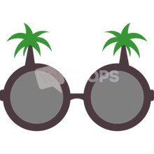 Load image into Gallery viewer, Palm Tree Glasses