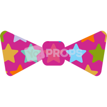 Load image into Gallery viewer, Pink Star Bowtie