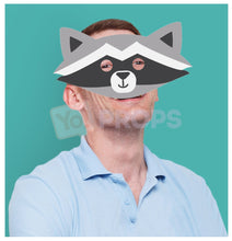 Load image into Gallery viewer, Raccoon Mask 2