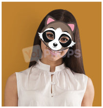 Load image into Gallery viewer, Raccoon Mask 3