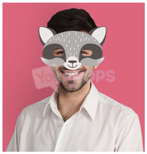 Load image into Gallery viewer, Raccoon Mask 4