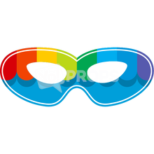 Load image into Gallery viewer, Rainbow Mask 2