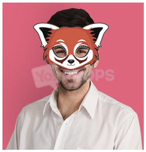 Load image into Gallery viewer, Red Panda Mask