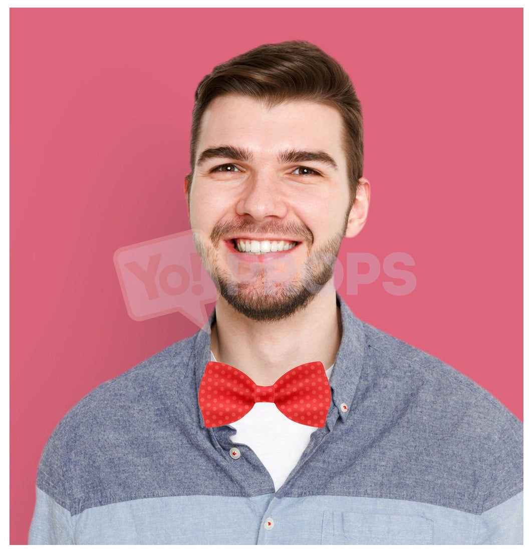 Red Polka Dot Bowtie 1