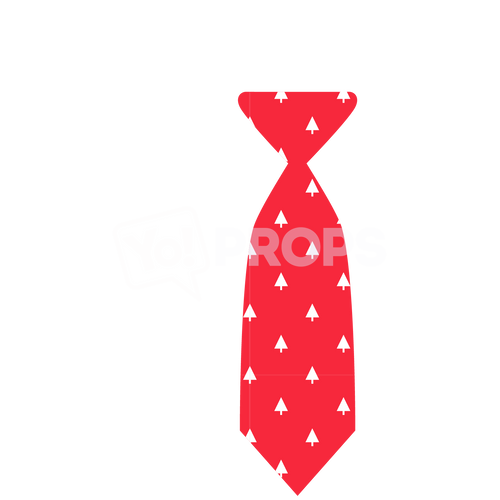 Red Christmas Tie