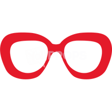 Load image into Gallery viewer, Red Glasses