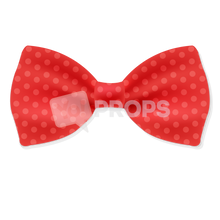 Load image into Gallery viewer, Red Polka Dot Bowtie 1