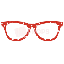 Load image into Gallery viewer, Red Star Glasses