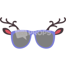Load image into Gallery viewer, Reindeer Glasses