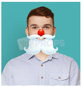 Santa Nose and Beard