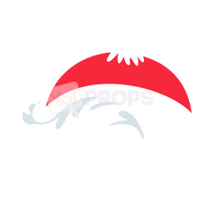 Load image into Gallery viewer, Santa Hat with Hair