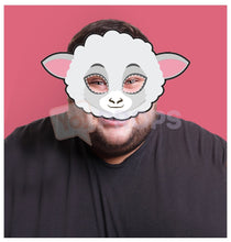 Load image into Gallery viewer, Sheep Mask