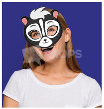 Load image into Gallery viewer, Skunk Mask