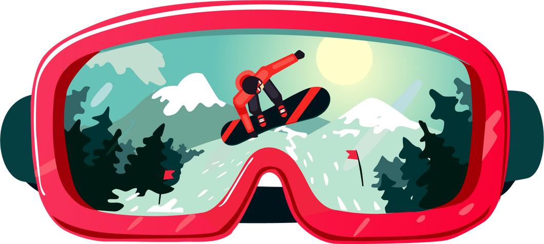Snowboard Reflection Goggles