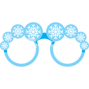 Snowflake Glasses 2