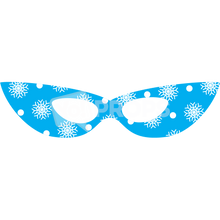 Load image into Gallery viewer, Snowflake Glasses
