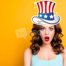 Load image into Gallery viewer, Uncle Sam Hat