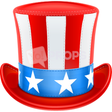 Load image into Gallery viewer, Uncle Sam Hat 4
