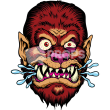 Load image into Gallery viewer, Werewolf Head