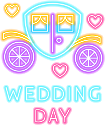 Wedding Day Neon