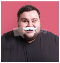 Load image into Gallery viewer, White Mustache