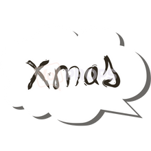 Load image into Gallery viewer, Xmas Speech Bubble