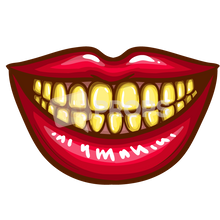 Load image into Gallery viewer, Yellow Teeth