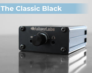 The Classic Black - portable headphone amplifier