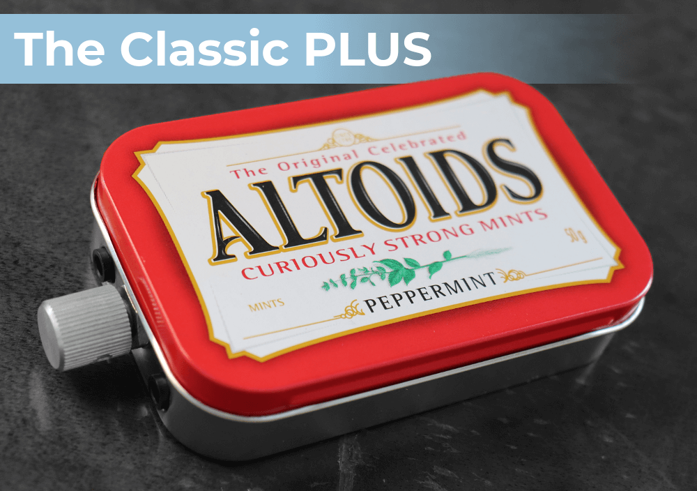 The Classic PLUS - UPGRADED portable headphone amplifier
