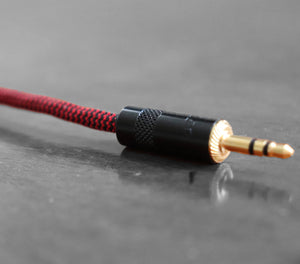 3.5 mm Audio Cable - 99.99% silver with gold plated contacts