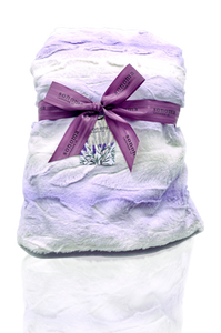 Lavender Spa Blanket (fabric color may vary)