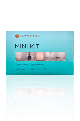 Dazzle Dry Mini Kit in Rose Quartz