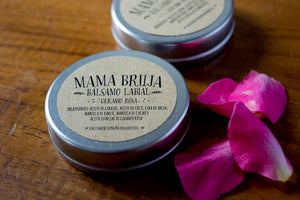 Rose Geranium Lip Balm