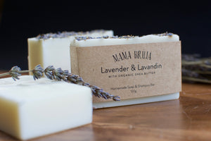 Lavender Soap & Shampoo Bar