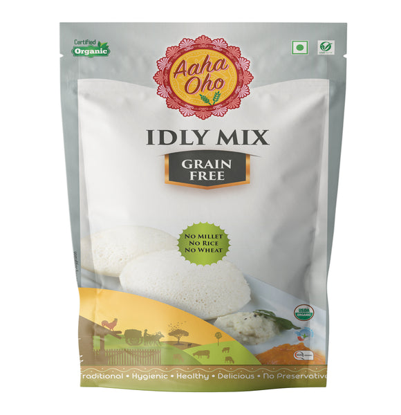 We present to you our healthy and guaranteed organic Grain-Free Idly Mix. We can assure you of this product is both tasty and nutritional. Just add the required amount of water to the mix and you are good to go. They are rich in proteins and light in nature.