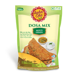 We have curated a special Organic Dosa Mix which contains all the healthy millets, oats, and pulses for all the Dosa Lovers!! This Dosa mix is a combination of Kodo Millet, Barnyard Millet, Little Millet, and Urad Dal. They collectively help us lower the risk of diabetes, reduce the chances of a heart attack. These are also high in fiber and a rich source of protein and Vitamin B. Oats on other hand are rich in antioxidants that help you boost your immunity. Pulses are also a rich source of protein.