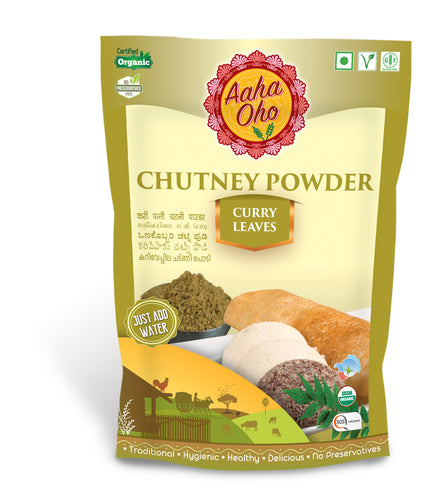 Organic Chutney Powder - Curry Leaves
