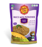 Eating plain Rice has always been boring. We at Aaha Oho realize this and have made Rice Mixes to make your plate of Rice even more delicious. This Rice Mix is made from Horsegram. Horsegram is rich in Calcium and Protein. It has very little lipid and sodium content in it. Its slow digestible starch makes it ideal for diabetes and weight management.