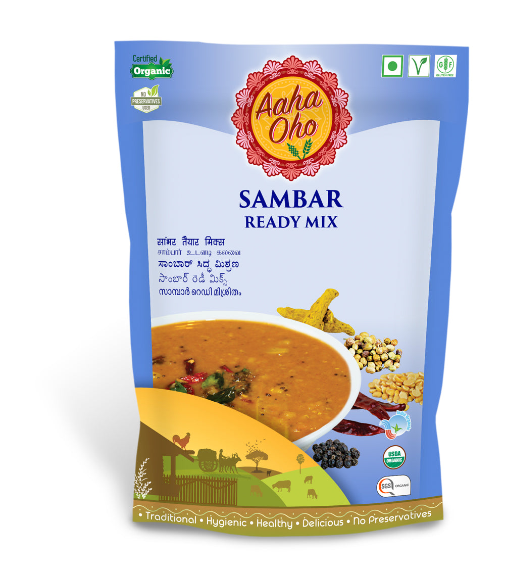 Organic Sambar Ready Mix