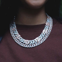 Load image into Gallery viewer, 10MM Prong Set Cuban Link