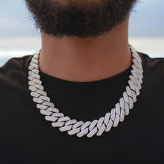 19MM Prong Set Cuban Link