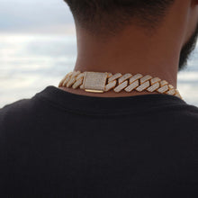 Load image into Gallery viewer, 19MM Prong Set Cuban Link