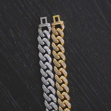Load image into Gallery viewer, 12MM Pave Set Cuban Link